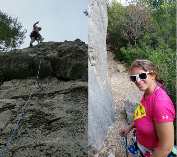 Honeymoon Climbing in Sardinia